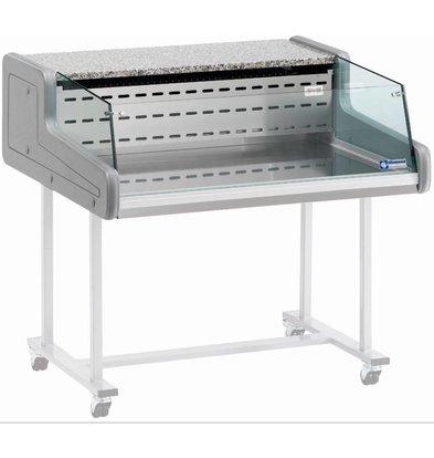 Diamond Verkaufsvitrine | Gekühlt + 4 ° C / + 6 ° C | Self-Service | 1000x930x (H) 345mm