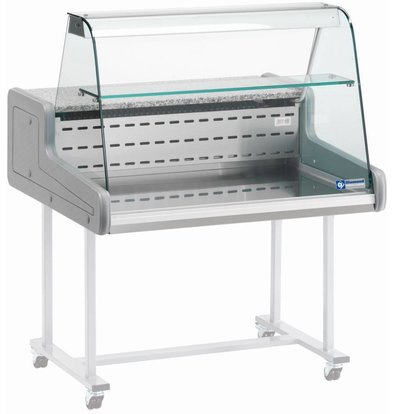 Diamond Counter display case | Chilled + 4 ° / + 6 ° | Two levels | 1000x930x (H) 660mm
