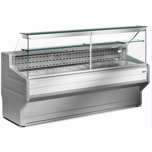 Diamond Refrigerated display case Counter Right Diamond | Temperature: + 4 ° / + 6 ° | 2000x800x (H) 1220mm