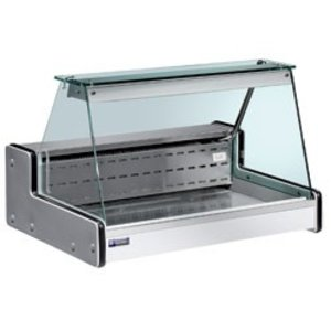 Diamond Vitrine Toonbank Gekoeld | Temperatuur: +4° / +6° | 2000x750x(H)650mm