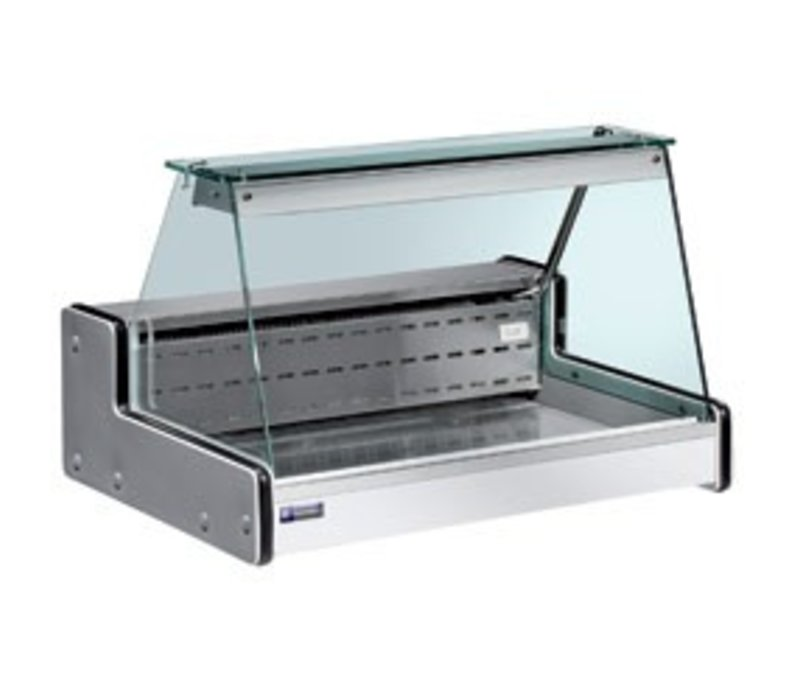 Diamond Counter Refrigerated display case   Temperature: + 4 ° / + 6 °   2000x750x (H) 650mm