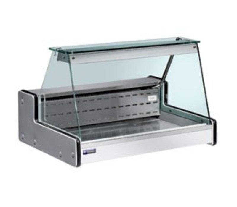 Diamond Vitrine Toonbank Gekoeld   Temperatuur: +4° / +6°   2000x750x(H)650mm