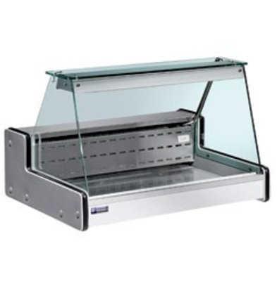 Diamond Counter display case | Chilled + 4 ° / + 6 ° | 1000x750x (H) 650mm