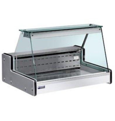 Diamond Vitrine Toonbank | Gekoeld +4° / +6°  | 1000x750x(H)650mm