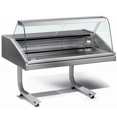 Diamond Gegenkühlvitrine | Fisch | 0/2 Grad | 1000x980x (H) 1280mm