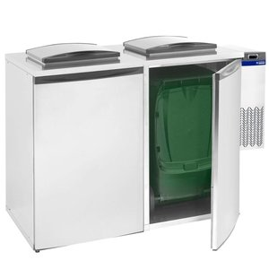 Diamond Waste cooler - Double - 28x54x (h) 74