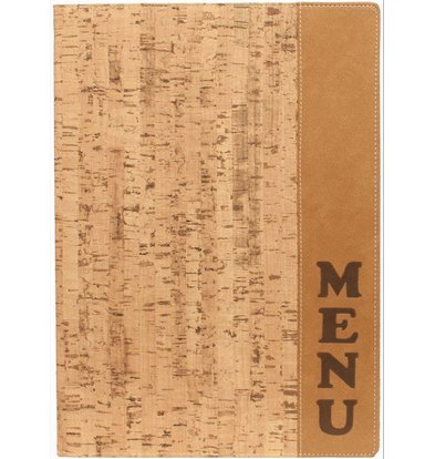 Securit Menu folder Design - Cork A4