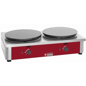 Diamond Double Crepes on Griddle Gas | Professional | 40 cm diameter