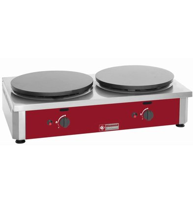 Diamond Doppel Crepes on Griddle Gas | Professional | 40 cm Durchmesser