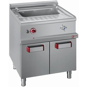 Diamond Pasta Cooker Gas 40 liter + Stainless Steel Frame | 700x700x (H) 850 / 1000mm