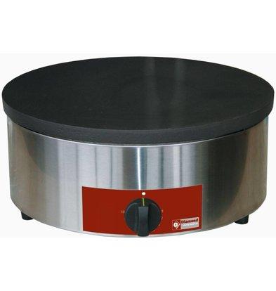 Diamond Professionele Crepe Maker op Gas | Enkel | 3,1 kW | 40 cm diameter + Schraper