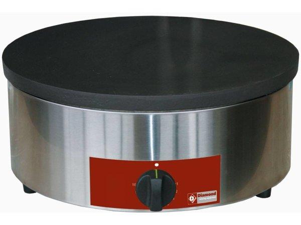 Diamond Crepe Maker Professional auf Gas | Single | 3,1 kW | 40 cm Durchmesser + Scraper
