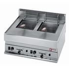 Diamond Gas Fryer | 2x8 Liter Pro | Tabletop | 11KW | 700x650x (H) 280 / 380mm