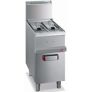 Diamond fryer | gas | Pro | 12x7 Ltr | 11kW | With Mount | 40x70x (h) 85 / 117cm