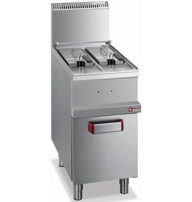 Diamond fryer | gas | Pro | 12x7 Ltr | 11kW | With Mount | 40x70x (h) 85 / 117cm