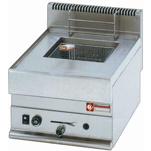 Diamond Friteuse Gas PRO | 8 Liter | Tafelmodel | 5,4KW | 400x650x(H)280/380mm