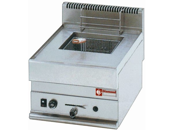 Diamond Fryer Gas PRO | 8 Liter | Tischplatte | 5,4KW | 400x650x (H) 280 / 380mm