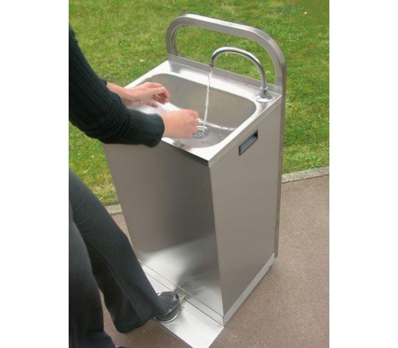 XXLselect Elektromobil Sink - mit Fußschalter + erhitzte Wasser