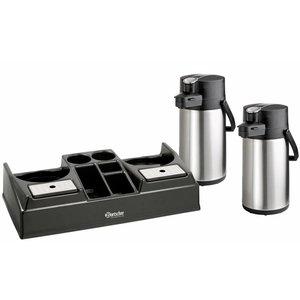 Bartscher Coffee Station includes 2 pump thermos