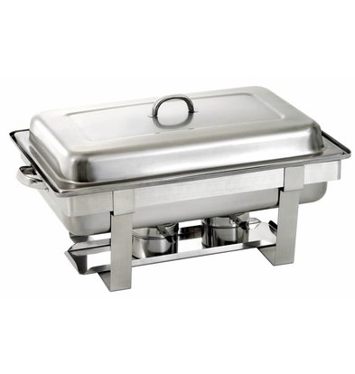 Saro Chafing Dish Complete | UNIVERSAL | 1/1 GN | 620x360x (H) 250 / 310mm