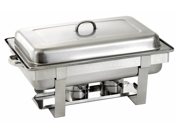 Saro Chafing Dish Compleet | UNIVERSEEL | 1/1 Gastronorm | 620x360x(H)250/310mm
