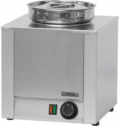 Casselin Hot Pot | Stainless steel | Bain Marie | 4.5 Liter | 300x300x (H) 350mm