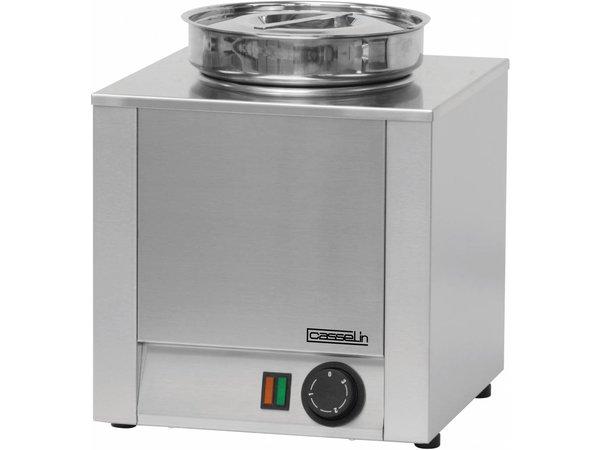 Casselin Hot Pot   Stainless steel   Bain Marie   4.5 Liter   300x300x (H) 350mm