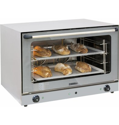 Casselin Convection Oven XXL fluid injection - 835x800x (h) 570mm 4 x 600x400mm