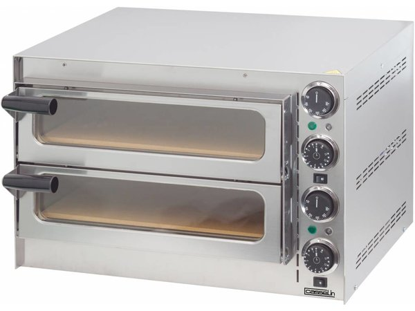Casselin Pizza Oven SS   Within 2 Rooms 410x370x90mm   2700W   550x430x (H) 245mm