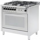 Casselin Gasfornuis 5 Pits + Elektrische oven 117 liter | 900x600x(H)850/900mm