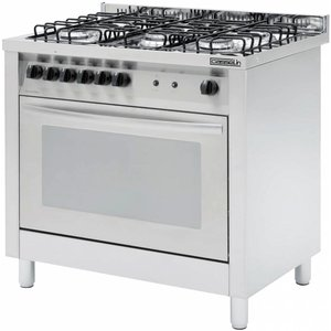 Casselin 5 Pits stove + electric oven 117 liters | 900x600x (H) 850 / 900mm