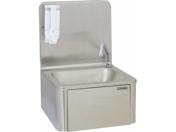Casselin Stainless Steel Sink | with Knee Control + Soap Dispenser | 400x335x (H) 535 mm