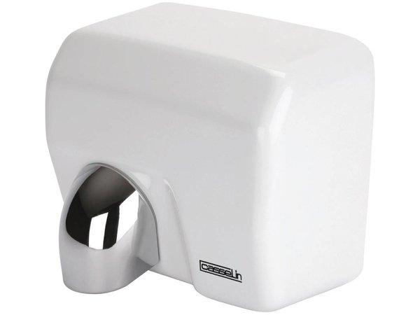 Casselin Händetrockner White Steel Schwenkkopf | 12-15 Sekunden | 2500W