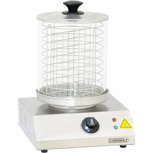 Casselin Sausage Warmer - Stainless steel - 800W - up to 100 ° C - 280x280 (H) 355mm