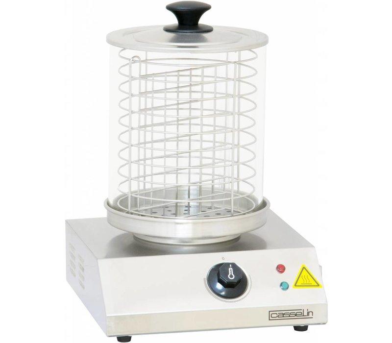 Casselin Wurstwärmer - Edelstahl - 800 W - bis zu 100 ° C - 280x280 (H) 355 mm