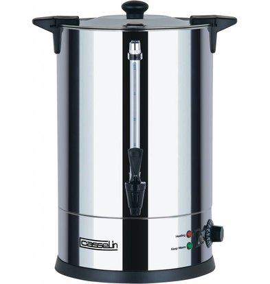 Casselin Hot Water Dispenser Stainless Steel | double | Ø273 mm | 15 liter