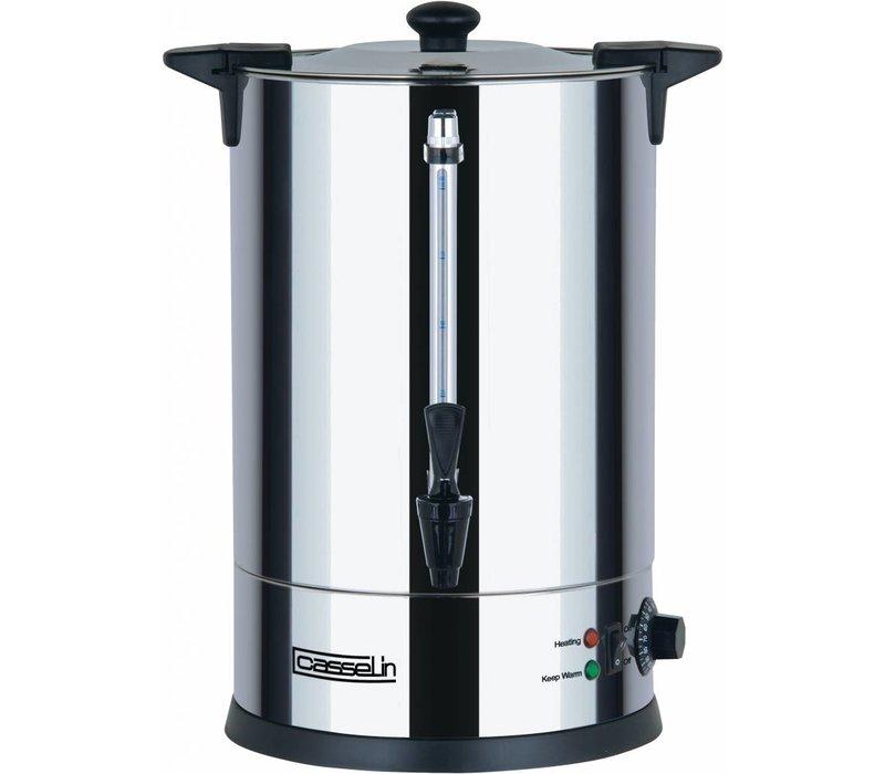 Casselin Heetwaterdispenser RVS | dubbelwandig | Ø273 mm | 15 Liter