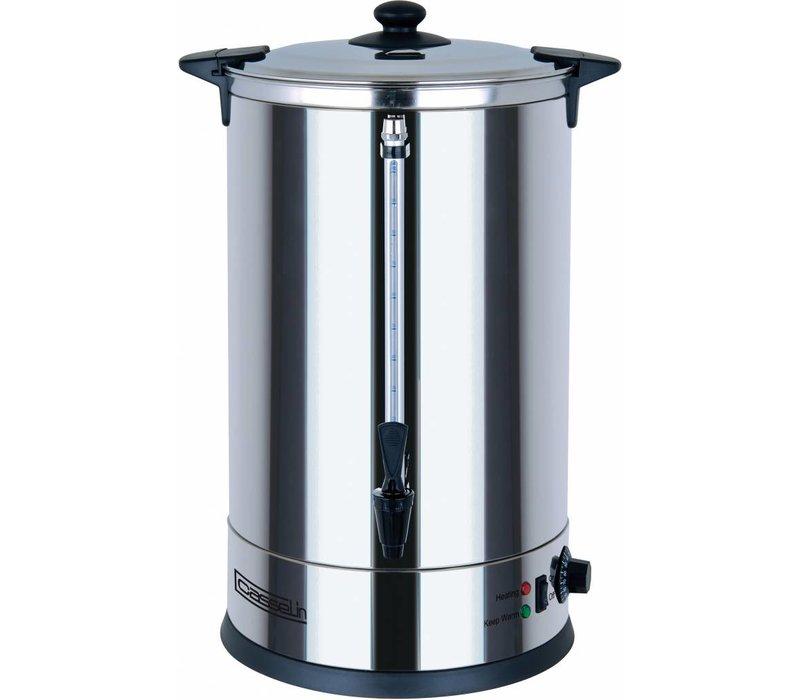 Casselin Hot Water Dispenser | double | Non-drip valve | Ø318mm | 25 liter