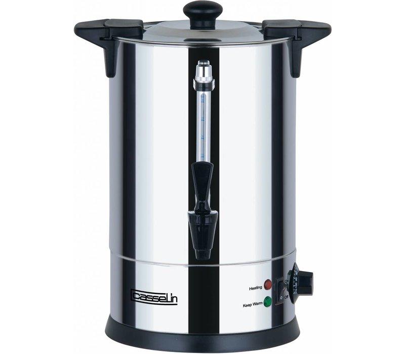 Casselin Hot Water Dispenser | double | Non-drip faucet | Ø225mm | 6.8 liter