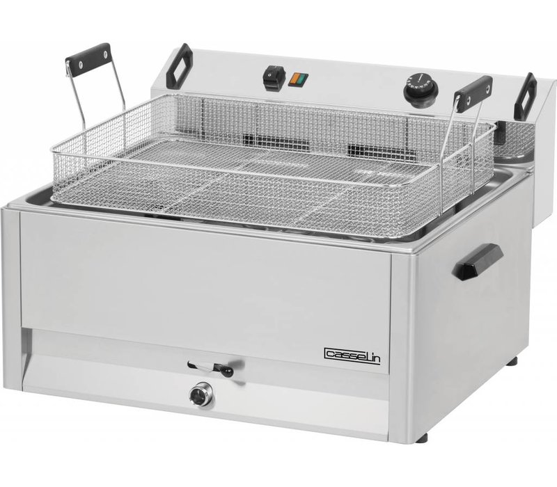 Casselin fryer | electric | Cold Zone | Bakery Fish and Oliebollen | 30 liter | 400V | 15kW | 670x650x (H) 370mm