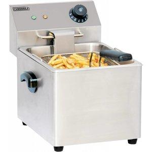 Casselin Fryer   8 Liter   3,2kW   265x430x (H) 340mm