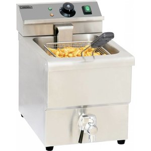 Casselin Fryer | Tabletop | 8 Liter | 3,25kW | 290x550x (H) 410mm