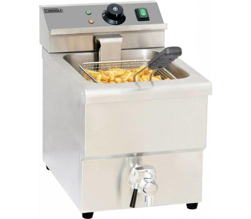 Casselin Fryer | Tabletop | 8 Liter | 3,25kW | 290x550x (H) 410mm