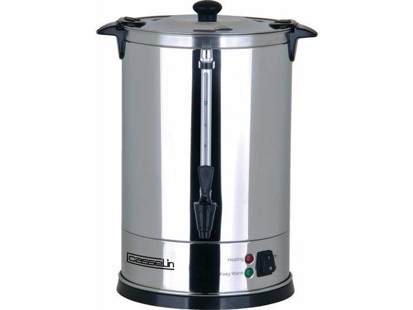 Casselin Percolator Dubbelwandig RVS   Geen Filters Nodig   Ø270x(H)440mm   100-110 Kopjes   15 Liter