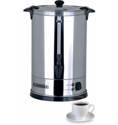 Casselin Percolator Dubbelwandig | RVS | Geen Filters Nodig | Ø210x(H)370mm | 48 Kopjes | 6,8 Liter
