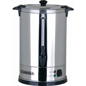Casselin Percolator Jacketed | Stainless steel | No Filters Needed | Ø210x (H) 370mm | 62-70 Cups | 9 Liter