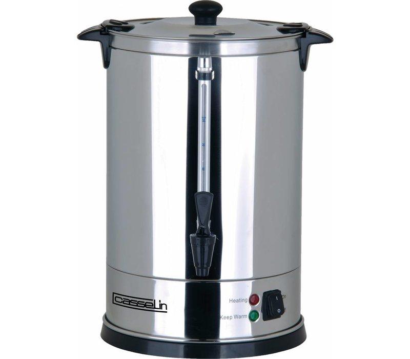 Casselin Percolator Jacketed | Edelstahl | Keine Filter benötigt | Ø210x (H) 370 mm | 62-70 Cups | 9 Liter