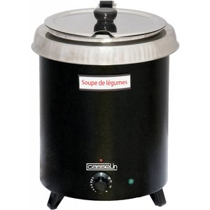 Casselin Elektrische Soepketel - Thermocoating RVS Reservoir - 8,5 Liter