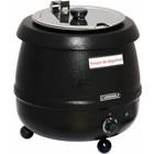Casselin Elektrische Suppenkessel - Edelstahl - 9 Liter