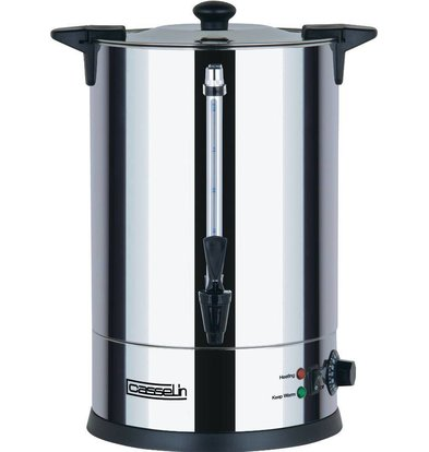 Casselin Heetwaterdispenser | dubbelwandig | Non-drip Tapkraan | Ø225 mm | 10 Liter